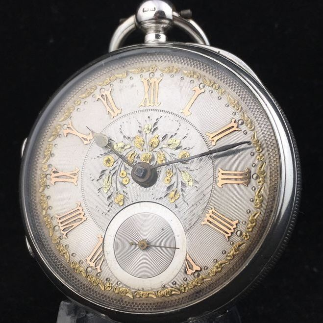 Silver Fusee Pocket watch - Homme - 1887