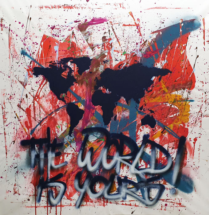 Parscha Mirghawameddin (WERK) - The World is Yours N°32