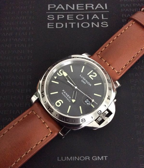 Officine Panerai - Luminor GMT  Special Edition - PAM00029 - Homme - 2011-aujourd'hui