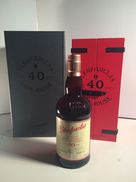 Glenfarclas 40 years old - Original bottling - 70cl