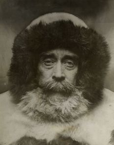 Benjamin B. Hampton (1875-1932)/Register and Tribune Syndicate - Robert Peary, First Man to Reach the North Pole, 1909