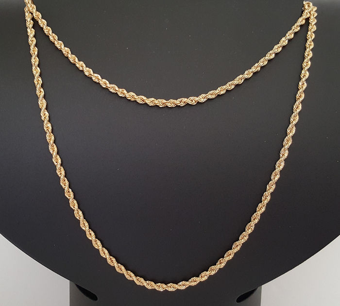 71 cm 28,27 gr - 18 kt. Yellow gold - Necklace