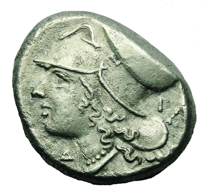 Greece (ancient) - Corinthia, Corinth. AR Stater, c. 345-307 BC - Silver