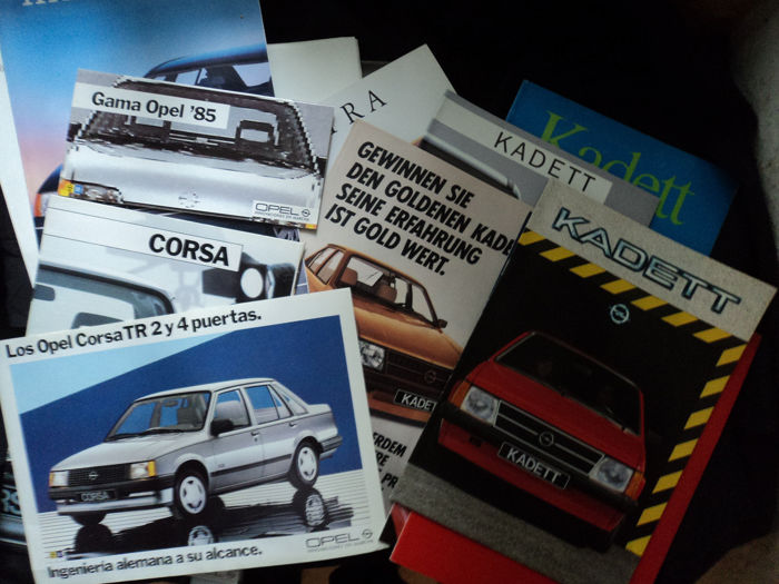 Brochures / catalogues - Opel - 1981-1997
