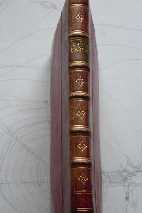 Thomas James - Aesops fables (Channell Binding) - 1854