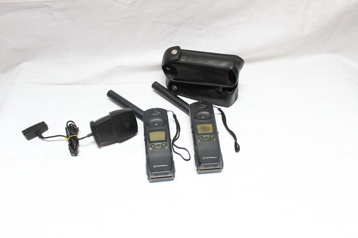 Two Motorola Iridium 9500 - Telefono satelital