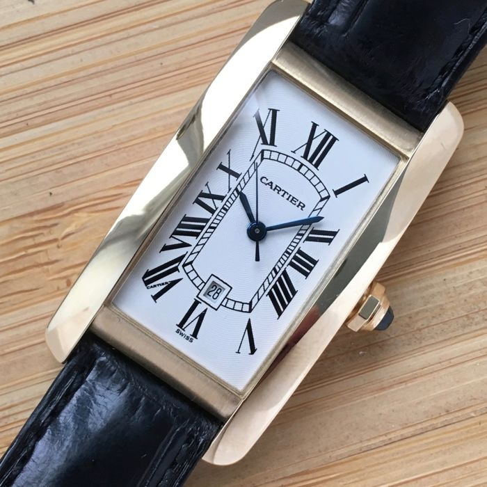 Cartier - Tank Americaine  - 2483 - Men - 2000-2010