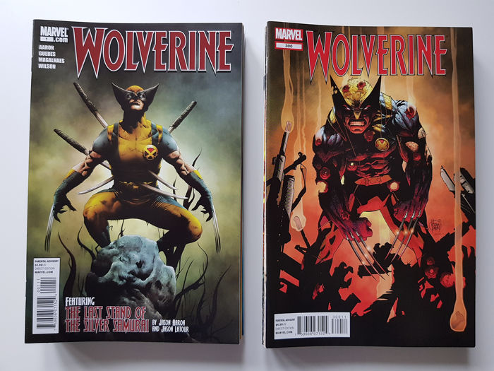 Wolverine Vol 4 - Issues #1-20 + 300-317 Complete Set - First edition