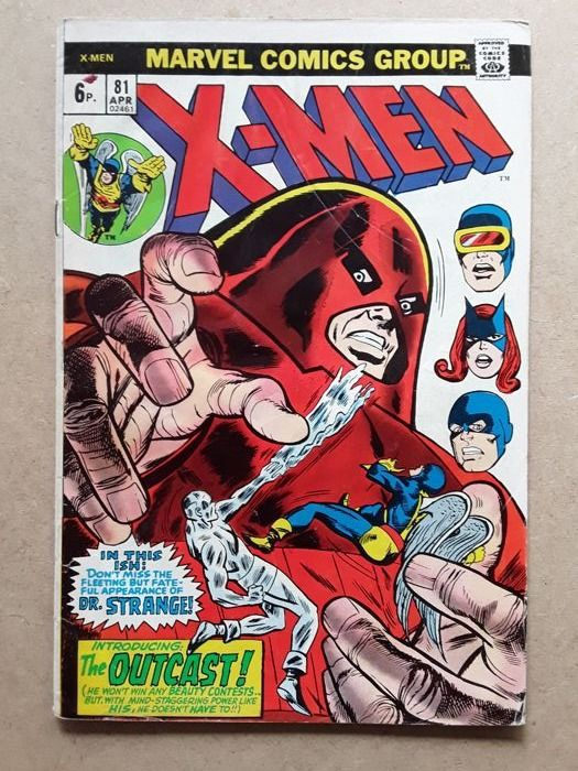 Uncanny X-Men #81, 82, 86 Early Bronze Age Low-Grade  - appearance Juggernaut, the Blob, Vanisher - Softcover - First edition - (1973/1974)