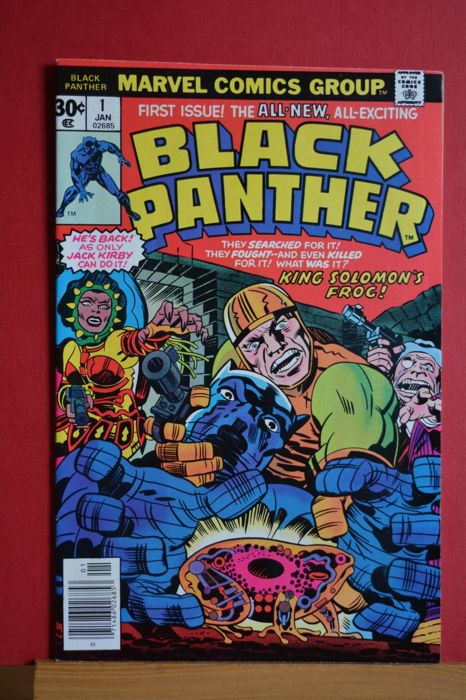 Black Panther #1 - The Black Panther! King Solomon's Frog! - Softcover - First edition - (1976)