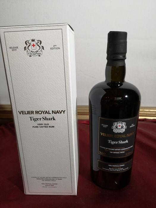 Royal Navy Velier - Tiger Shark - Second Edition - b. 2019 - 70 cl
