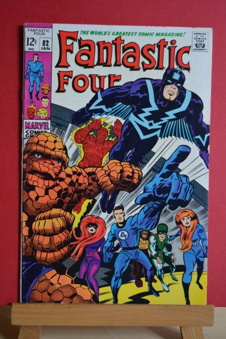 Fantastic Four #82 - The Mark of The Madman! - Softcover - First edition - (1969)