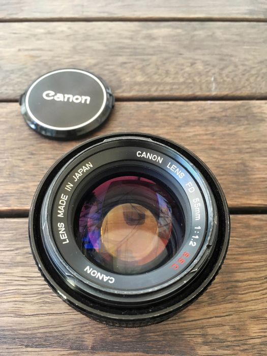 Canon 55mm F1:1.2 s.s.c.