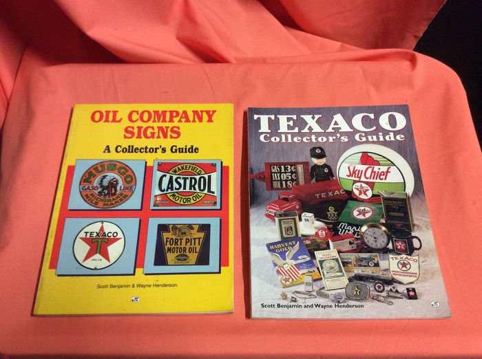 Books - Libri oil company.  End texaco  collectors - 1995-1997