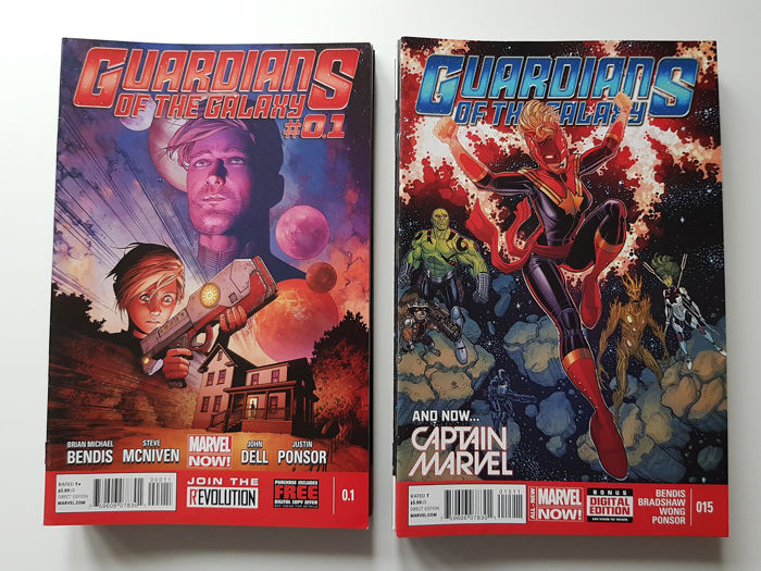 Guardians Of The Galaxy Vol 3  - Issues #1-27 Complete Set + Annual #1 and 0.1 - First edition