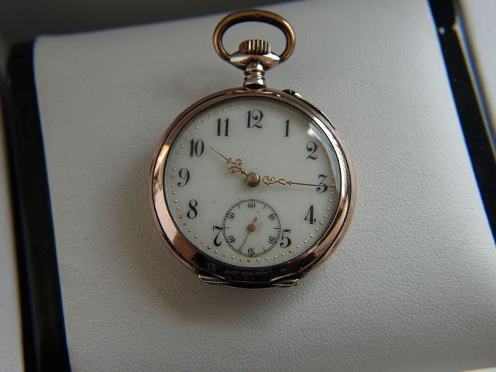 Freres & Co.  - silver pocket watch NO RESERVE PRICE - 72544 - Homme - 1850-1900