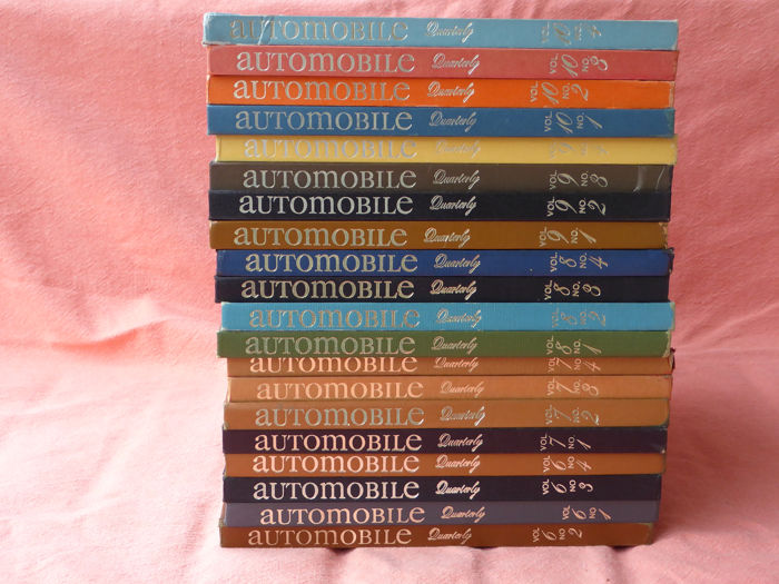 Books - Automobile Quarterly Volumes 6/10 - 1962-1967