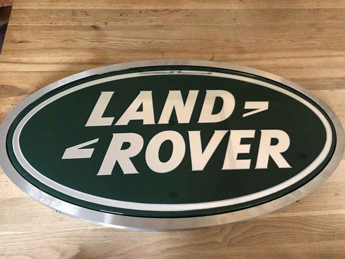 Semnalizare - Land Rover - Land Rover Dealership Light Up Wall Sign - 1990-2000