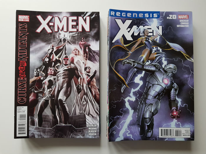 X-men Vol 2 - Issues #1-41 Complete Set  - First edition