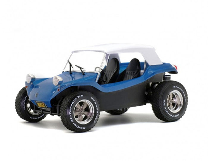 Solido - 1:18 - Meyers Manx Buggy 1968 Soft Roof  - Blue