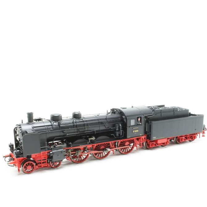 Fleischmann H0 - 7 4117K - Steam locomotive with tender - BR 17 - DRG