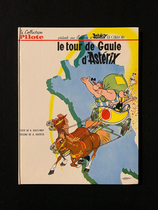 Asterix T5 - Le Tour de Gaule - C - First edition - (1965)