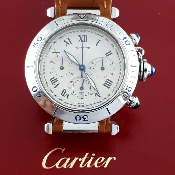 Cartier - Pasha Chronograph - 1050 - Men - 1990-1999