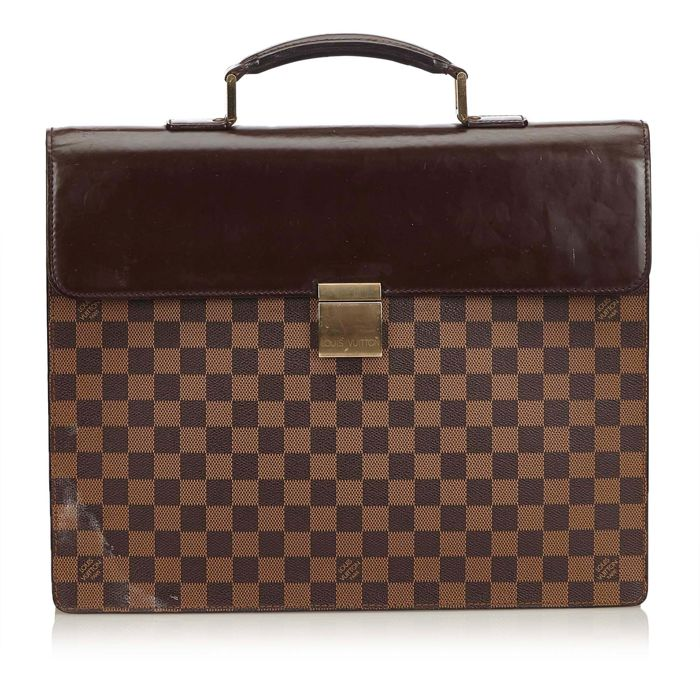 Louis Vuitton - Damier Ebene Altona GM Business Bag