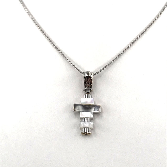 3M - 18 kt. White gold - Necklace with pendant