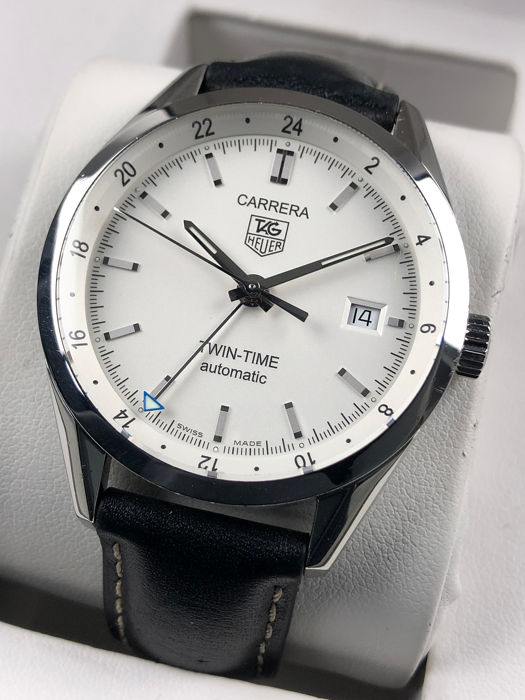 TAG Heuer - Carrera Twin Time Caliber 7 Automatic  - WV2116 - Uomo - 2011-presente