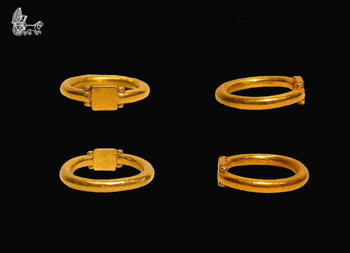 Late Roman/Early Byzantine Gold Ring