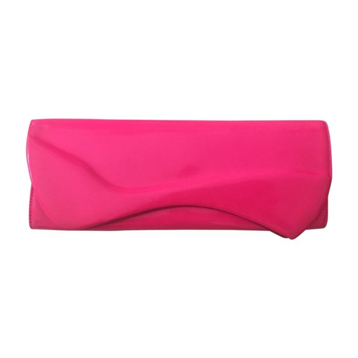 louboutin pigalle patent clutch