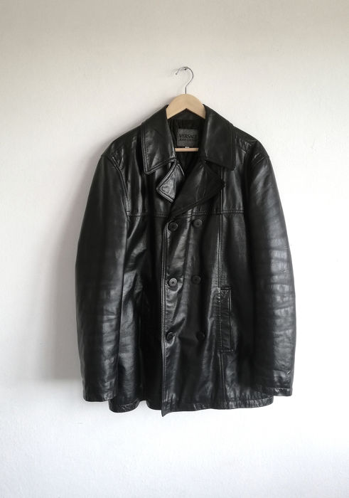 0fa0886f6 Versace Jeans Couture - Jacket, Leather jacket - Catawiki