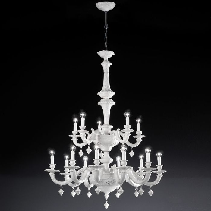 Razzetti - Artemest  - Kronleuchter - Palladium 15 light chandelier
