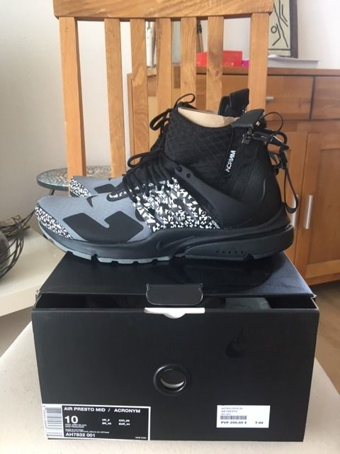 info for outlet store reliable quality Nike (Limited Edition) - Nike air presto x Acronym ...