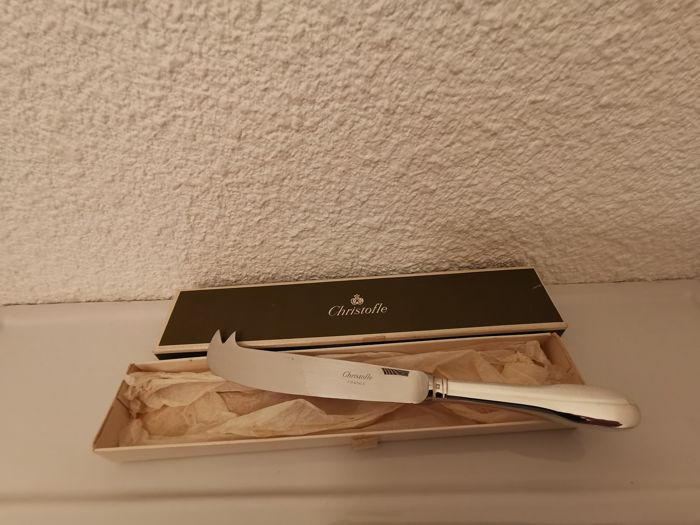 cheese knife - Silver plated - France - Second half 20th century