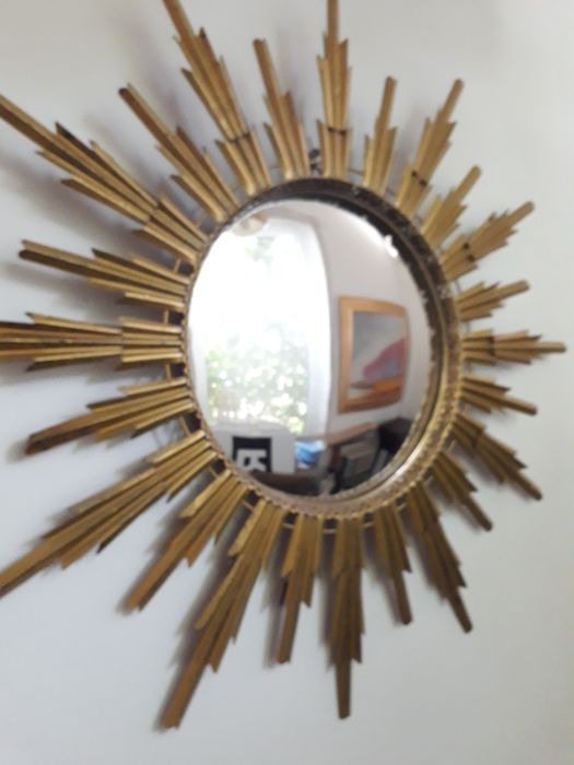 Sunburst mirror, 1960s