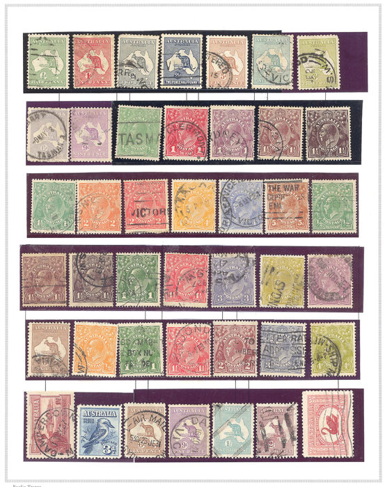 Britse Gemenebest 1851/1953 - Collection of Australia and Australian States
