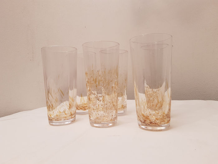 Julia Knight - 6 glasses in glass - Glass