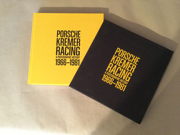 "Books - ""Porsche Kremer Racing A photographic History 1966-1981"" -  limited edition 471 / 1000 - Very rare!!! - 1966-1981"