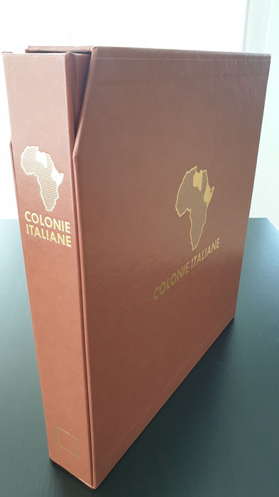 """Italien - Kolonien (allgemeine Objekte) 1910/1938 - Wide collection of the """"Pictorial"""" set of the colonies"""