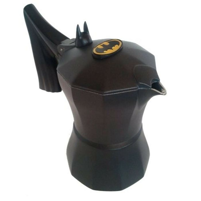 Batman - Gotham styled Coffee Maker with logo - 3 Cups Mocca Machine - new, unused in box