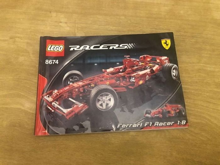 Lego Technic Car Ferrari F1 Racer 8674 Catawiki