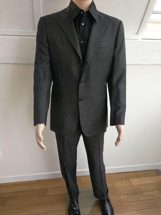 Kiton  - Suit - Size: Ita 52 drop R6