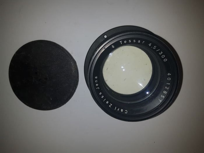 """Carl Zeiss TESSAR 4,5/300 ( will cover up to 8x10"""")"""