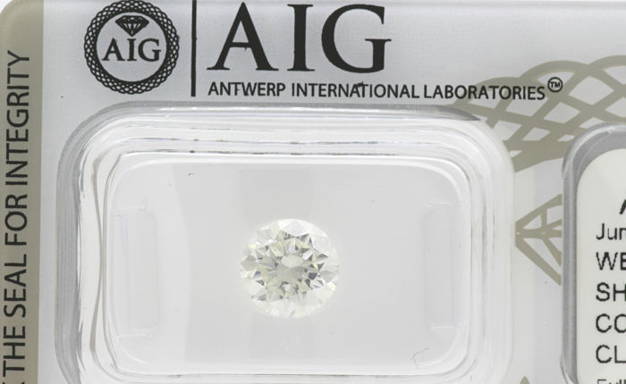 Diamond - 1.50 ct - Briliant, Rotund - E - SI1