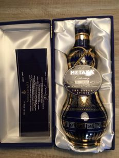 Metaxa - Centenary 1988 - gilded with 18K gold - 70cl