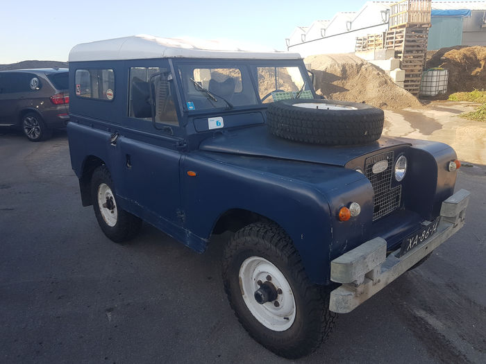 Land Rover - Series II `88 - 1967