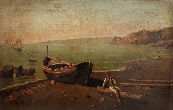 Francesco Saverio Torcia (1840-1891) - Marina