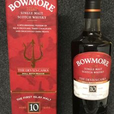 Bowmore 10 years old The Devil's Casks - Small Batch Release I - First Edition - 700ml